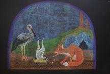 Malování na tabuli