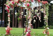 Floral arch wedding... / Arch ways, ceremony flowers, floral arch ways, wedding arch ways, wedding flowers, aisle decorations.