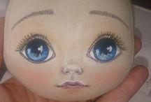 Куклы лицо
