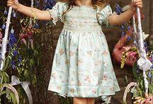 girls vintage style dress