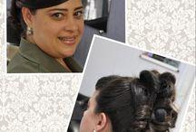Meus trabalhos / Penteados, Make, designer de sobrancelhas, etc....