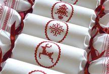 вышивка рождество