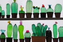 Recycled plastic crafts
