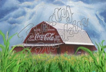 Sign Painted Barns Series