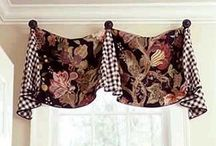 Pleated Valance with Finials Sewing Pattern