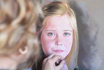 Teken en schilderles