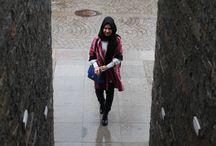Yağmurlu Bir Günde / Minimal stil, moda, muhafazakar moda, muhafazakar giyim, modern muhafazakar, hijab fashion, hijab style, hijab trend