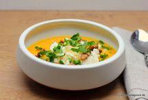 Soups for the soul / Seelenwärmer-Suppen-Rezepte für die kalte Jahreszeit!