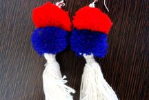 Accesory/jewelry for football team fans