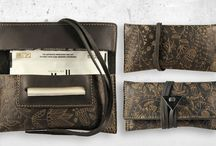 Tobacco pouch in real leather Mavà