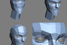 3D Character Topology