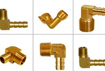 Brass Hose Barbs Fittings / Hose Barb fittings are parts which are generally machined and threaded out of brass rods. They are used for attaching and securing of hoses and their piping. The barb-like rings on the cylindrical piece allow for an easy push-connection of flexible-plastic or rubber tubing that is not so easily disconnected. We do manufacture them in Dry seal threads.