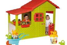 Domčeky pre deti / Detské domčeky sú jedinečnou hračkou na záhradu pre vaše dieťa. Vyberte si ten, ktorý sa vám páči najviac.