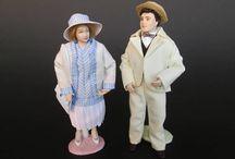 My Porcelain Dolls in 1:12 scale / doll, dollhouse, dollshouse, 1:12, miniature, porcelain, OOAK, paola e sara, paola&sara, dolls, handmade, posable,