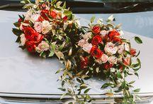 samochód ślub
