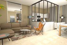 décorateur verrière / Le décorateur vous propose plusieurs idées de verrières dans le salon ou la chambre. Découvrez nos projets: http://www.e-interiorconcept.com