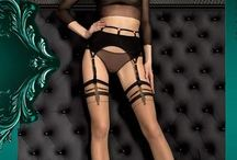 Smeraldo / SMERALDO - Ballerina Smeraldo, HIGH-QUALITY European Hold Up Stockings, Tights, & Stockings - LUXURY Holds Up By Ballerina Hosiery at Charm and Lace Boutique!