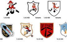 Luftwaffe insigna / stemmi gruppi
