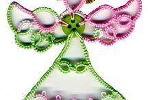 Boże Narodzenie - frywolitki