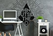 Office Wall Stickers / Office wall decal stickers.