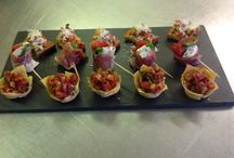 Food at Wrenbury Hall / Our Chef is second to none in all of his ideas, and his food delicious!