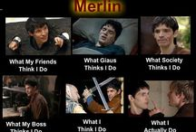 "merlin etc. / the legend of king Arthur pendragon, merlin, morgana, quotes and more... the series ""merlin"""