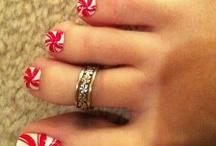 seasonal toe nails / by Jodie Stewart