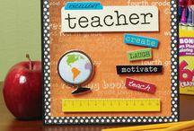 card for teacher