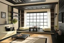 Japanese living rooms