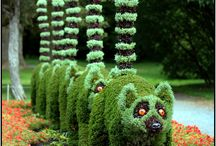 Too funny in the garden! / Comical additions to the home landscape.