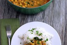 Curries and spicy dishes