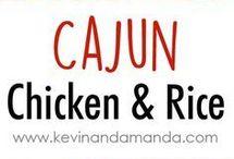 cajun chicen and rice