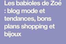 Les babioles de Zoé