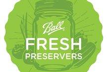 Ball Fresh Preservers / To help our community embrace the joys of fresh preserving and showcase the simplicity of home canning, we've partnered with bloggers across the country to share their expertise and inspiration for creating recipes from some of the freshest ingredients available. Check out pins from our sponsored Ball® Fresh Preservers!