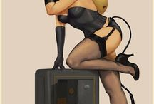 Art / Art Pin Ups & Hotties & Models Random Art / by Pedro Alvarez