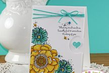 Bloom with Hope Card Ideas / by Laurie Graham: Avon Rep/Stampin' Up! Demo