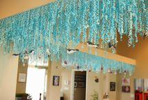 Mermaid party entrance
