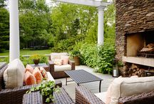 OUTDOOR DECOR IDEAS / Inspiration for a Beautiful Outdoor Decor