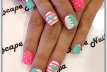 cute nail art designs for beginners by nded / cute nail art designs for beginners by nded