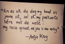 * Afrikaans