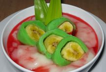 Banana green ice / Celebes food fr indonesia / by Nia Indarsih