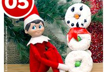 Christmas Elf Ideas / I am not too creative but can be a bit crafty if I see an idea I like. Our first year with the elf was pretty boring, but this year looks to be better! / by Becki Franks