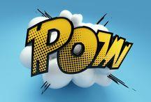 Logotipo Pop Art