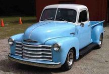1947 thru 1954 Chevy GMC pickups / by fred woodhouse