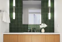녹색타일(화장실)