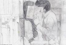 Cute Couple Drawings