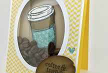 Stampin up coffee / Perfect blend set or similar