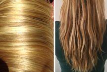 Haar / verzorging voor het haar en opsteekkapsels