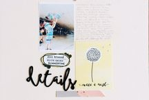 Cocoa Daisy September 2015:  Daydream / We carefully curate Scrapbooking, Day in the Life (Project Life or pocket scrapbooking), Day Planner (organizers, filofax, kikki k, planner), and Art Journaling kits every month. / by Cocoa Daisy Scrapbooking