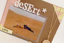 Mini desert / Mini album diseñado para Escrap con la colección triquiñuelas